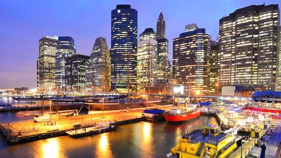 Newyork The South Street Seaport
