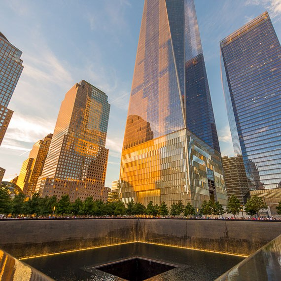 The National September 11 Memorial and Museum Frederickhotel Newyork