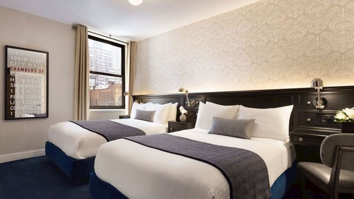 Deluxe Double room of frederickhotel newyork