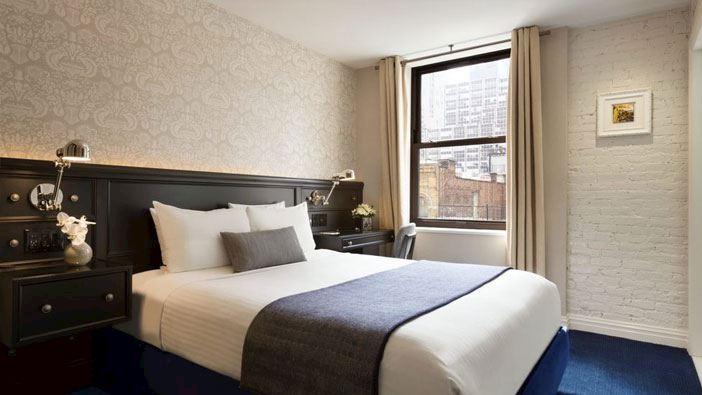 frederickhotel newyork Deluxe Queen room