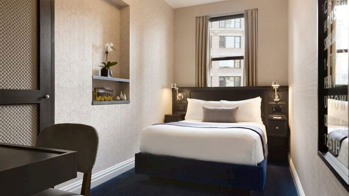 Superior Single room at frederickhotel newyork