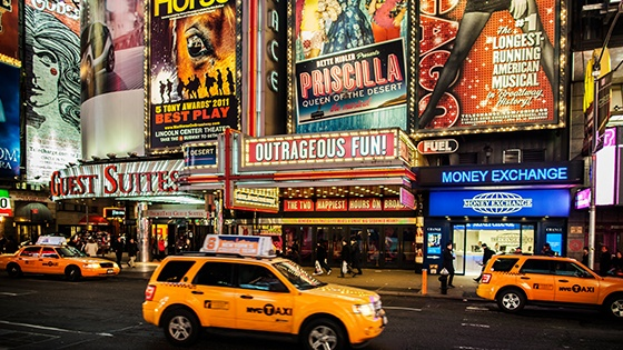 Newyork Broadway & Theater District